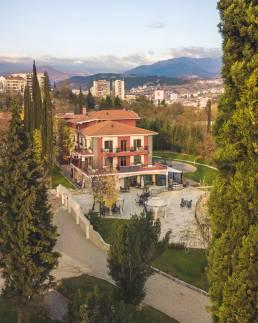 Villa Sintica with Drone